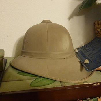 WWII Pith Helmet