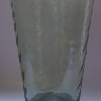 Whitefriars Sea Green Vase - Art Glass