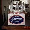 1952 Grapette Soda Bottles And Carrier