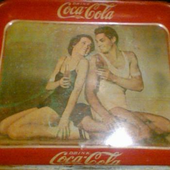 Coca cola tray 1934 - Coca-Cola