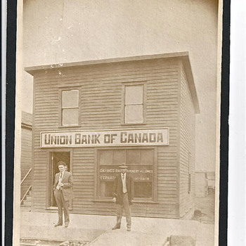 The Union Bank Of Canada, Early 1900 - Photographs
