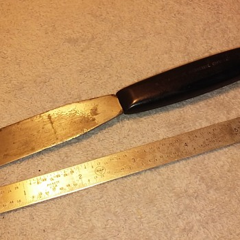 "odd little ""manicure cutlery"" spatula/knife - Tools and Hardware"