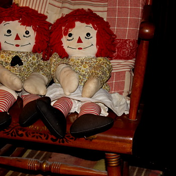 Raggedy Ann and Andy... - Dolls