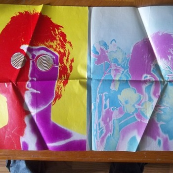 The Beatles double sided poster