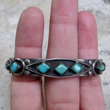 Navajo cuff bracelet - Fine Jewelry