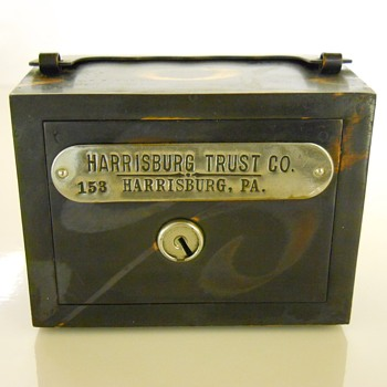 "Promotional Advertising Bank""Harrisburg Trust Co""Circa 1900 - Coin Operated"