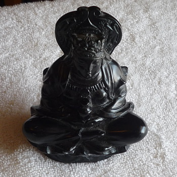 Black stone Hindu statue? - Asian