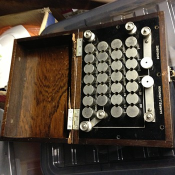 What is this?? Codecs or some sort of Morse code - Tools and Hardware