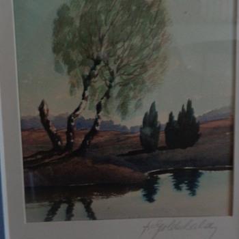 Watercolor by Goldschald