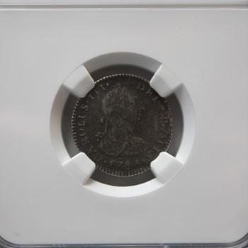 1783 El Cazador Coin