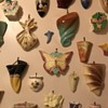 My late mother's collection of ceramic wall pocket vases