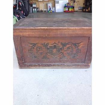 Antique Chest - Furniture