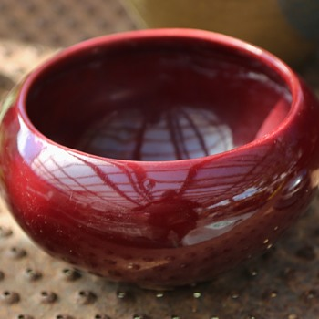Broadmoor Pottery - Red Bowl