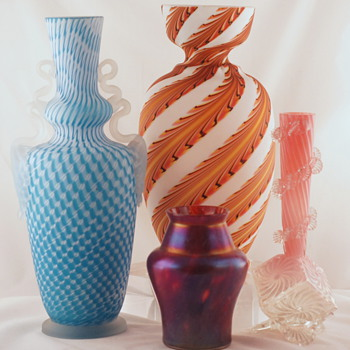 Welz Shapes and Décors - A Few More Groups #6 - Art Glass