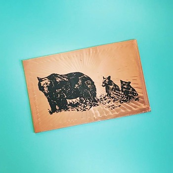 Copper Postcard - Postcards
