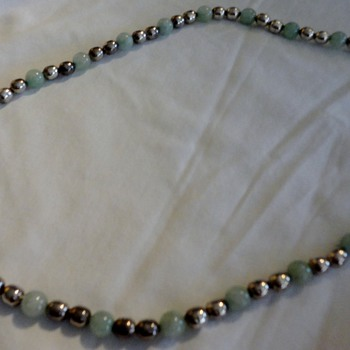 silver jade taxco necklace