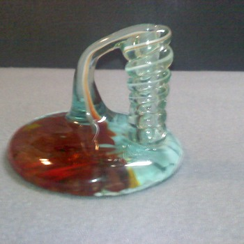 GLASS PENCIL HOLDER