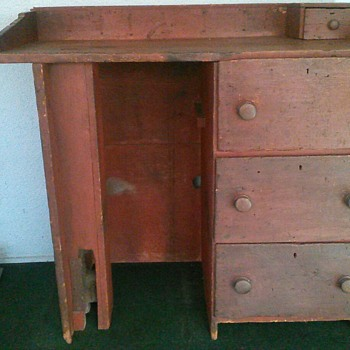 Primative Harness Chest - Furniture