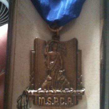 """MSPCA """"Medal"""""""