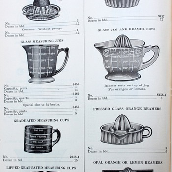 Pacific Housewares Wholesale Catalog 1927 - Paper