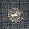 Coin of Catana 4 Drs riverbull (silver) 461 B.C.