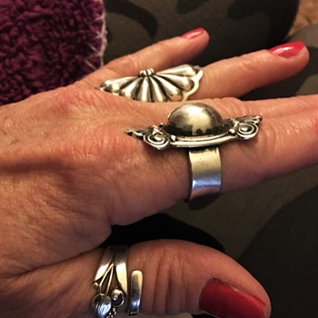 Sterling Silver Navajo Rings, New Mexico - Fine Jewelry