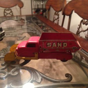 Marx Gravel & Sand Truck  - Toys