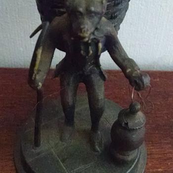 Apeman Toothpick Holder Meridan B Company - Figurines