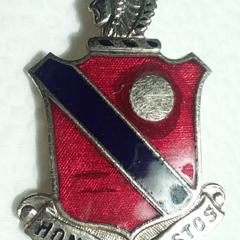 189th Field Artillery Regiment DUI - Military and Wartime