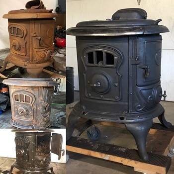 SPF&Co 18B wood stove. 08-20-22 - Kitchen