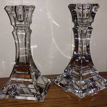 Tiffany & Co Candlesticks - Art Glass
