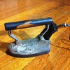 Our General Electric F-10 iron with cord