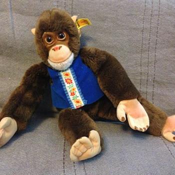 Steiff Jocko Chimpanzee. (Schimpanse) EAN 0022/36