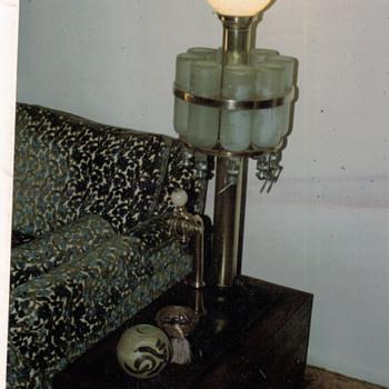 Brass Soda Fountain Lamp