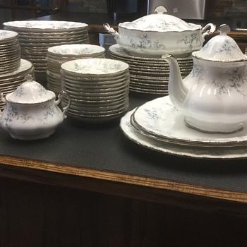 Vintage Paragon China — Brides Choice, Platinum Edge - China and Dinnerware