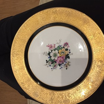 Bavaria plate wondering it's value?  - China and Dinnerware