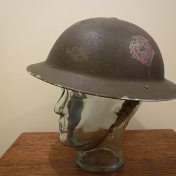British helmet used by The Black Watch (Royal Highland Regiment) of Canada