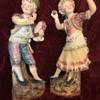 Majolica Figurines Folk Dancers: German? or-?