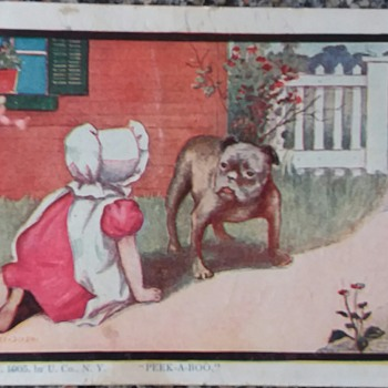 """BEEK-A-BOO"" - Postcards"