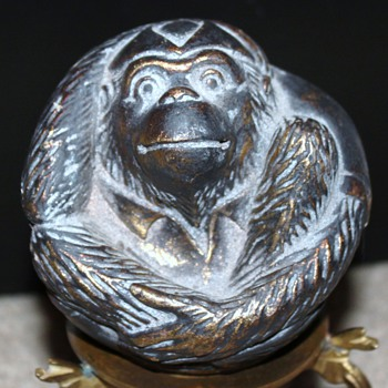 Small ball with monkey  - Animals