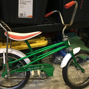 Old Leader kids banana seat bike - Sporting Goods