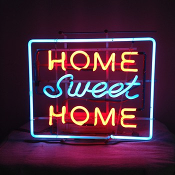 Vintage Neon Sign - Home Sweet Home - Signs