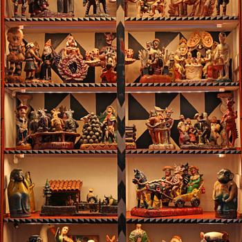 OCHUMICHO 1960 CERAMIC TABLEAUS - Folk Art