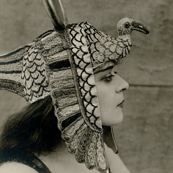 Theda Bara Cleopatra 1917 Original Albert Witzel Photograph - Photographs