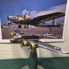 Vintage Boeing B-17C Pre-War Cast Aluminum Model Airplane