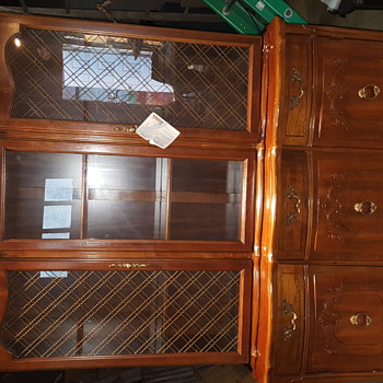 Bassett china cabinet