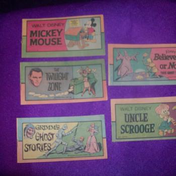 Vintage comic strips