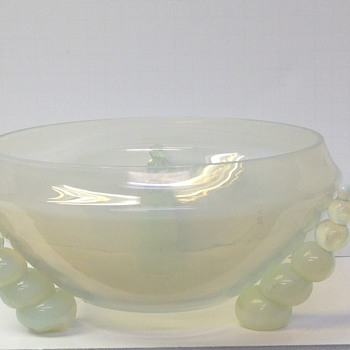 Art Deco Bowl - Art Glass