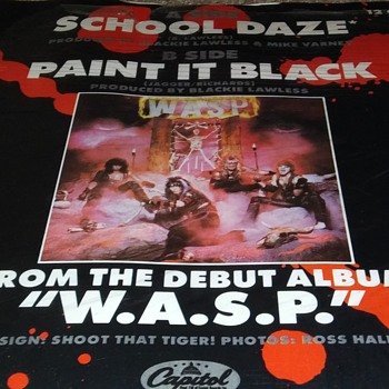 WASP DOES THE ROLLING STONES..ON EXTENDED PLAY - Records