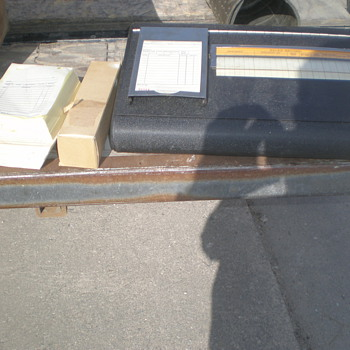 cash , receipt, and ledger box - Office